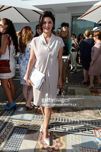 Actress Shohreh Aghdashloo attends the BAFTA LA TV Tea 2013 presented by BBC America and Audi held at the SLS Hotel on September 21 2013 in Beverly...
