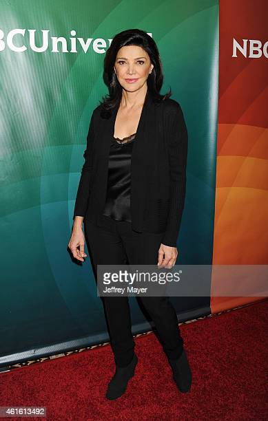 Actress Shohreh Aghdashloo attends the NBCUniversal 2015 Press Tour at the Langham Huntington Hotel on January 15 2015 in Pasadena California