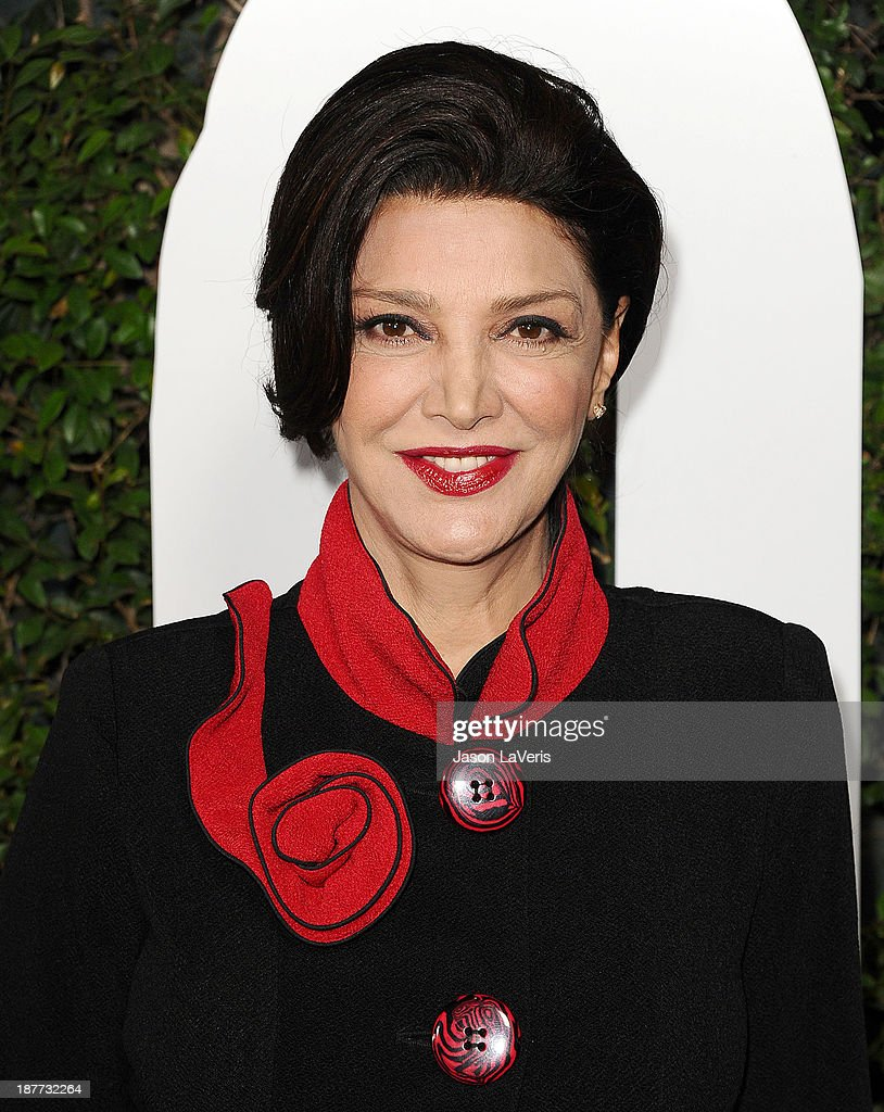 Actress <a gi-track='captionPersonalityLinkClicked' href=/galleries/search?phrase=Shohreh+Aghdashloo&family=editorial&specificpeople=210536 ng-click='$event.stopPropagation()'>Shohreh Aghdashloo</a> attends the premiere of 'Mandela: Long Walk To Freedom' at ArcLight Cinemas Cinerama Dome on November 11, 2013 in Hollywood, California.