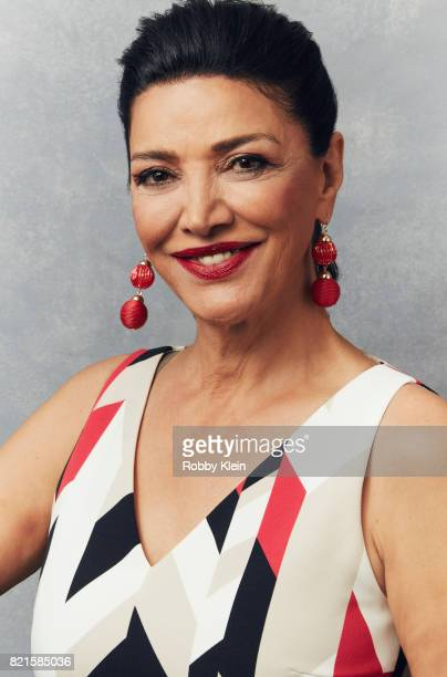 Actress Shohreh Aghdashloo from Syfy's 'The Expanse' poses for a portrait during ComicCon 2017 at Hard Rock Hotel San Diego on July 22 2017 in San...
