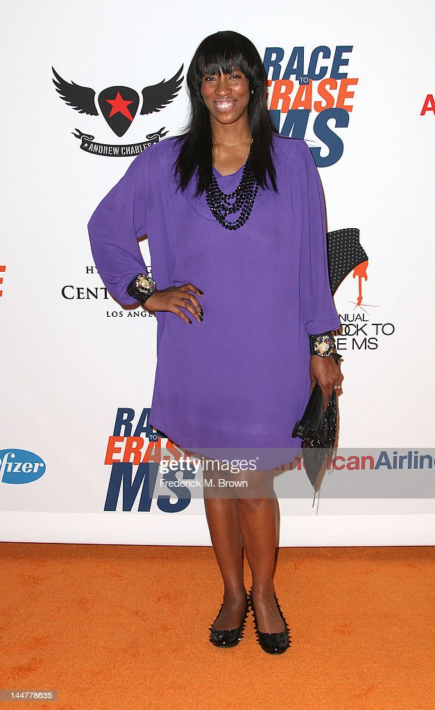 Actress Shondrella Avery attends the 19th Annual Race To Erase MS - 'Glam Rock To Erase MS' event at the Hyatt Regency Century Plaza on May 18, 2012 in Century City, California.