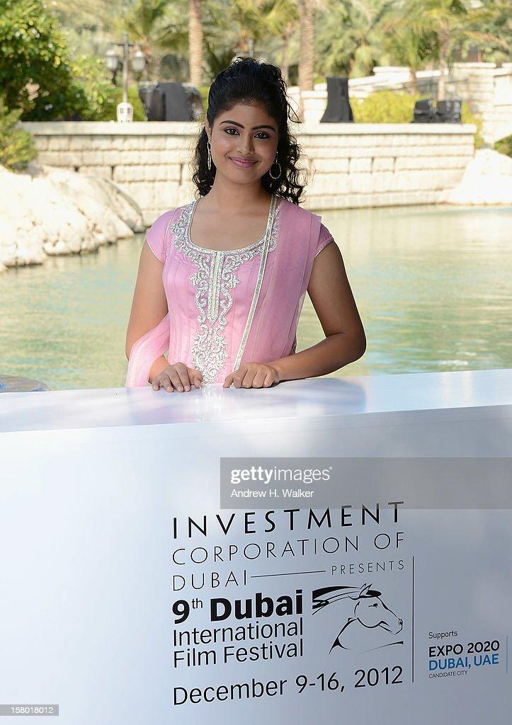 Actress Shravanthi Sainath attends the 'Life of PI' photocall during day one of the 9th Annual Dubai International Film Festival held at the Madinat Jumeriah Complex on December 9, 2012 in Dubai, United Arab Emirates.