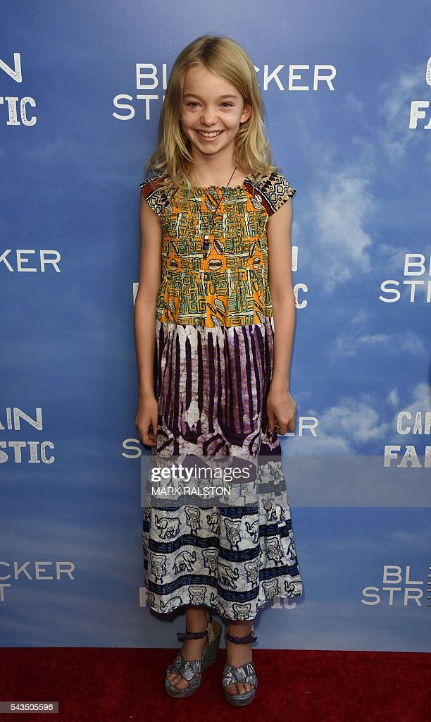 Actress Shree Crooks arrives for the premiere of Bleecker Street Media's 'Captain Fantastic' at the Harmony Gold in Los Angeles, California on June 28, 2016. / AFP / Mark Ralston