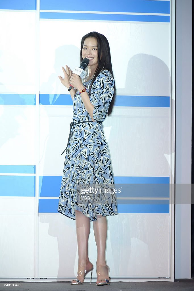 Actress Shu Qi attends Sogal Furniture activity on June 26, 2016 in Shanghai, China.