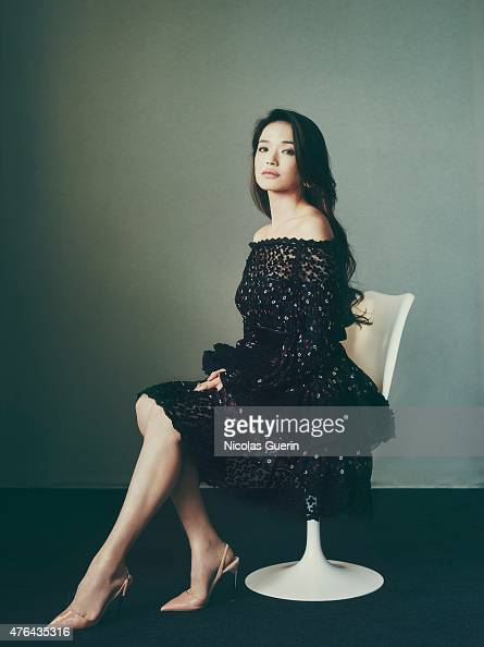 Actress Shu Qi is photographed for Self Assignment on May 15 2015 in Cannes France