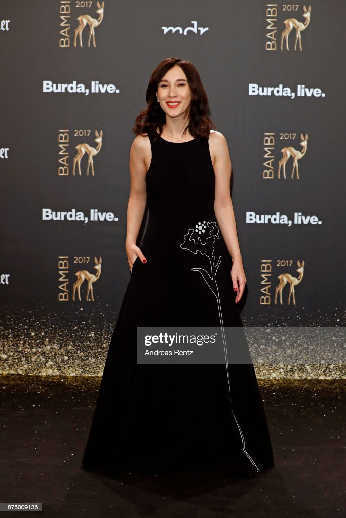 Actress Sibel Kekilli arrives at the Bambi Awards 2017 at Stage Theater on November 16, 2017 in Berlin, Germany.