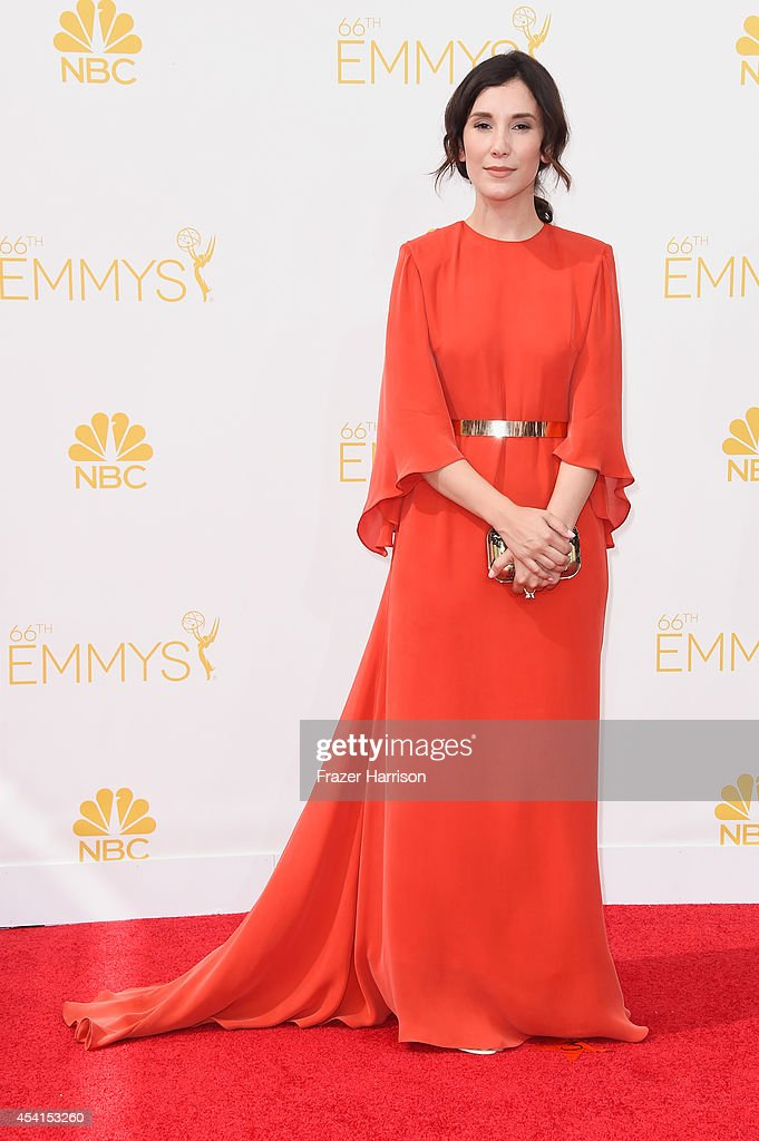 Actress Sibel Kekilli attends the 66th Annual Primetime Emmy Awards held at Nokia Theatre LA Live on August 25 2014 in Los Angeles California