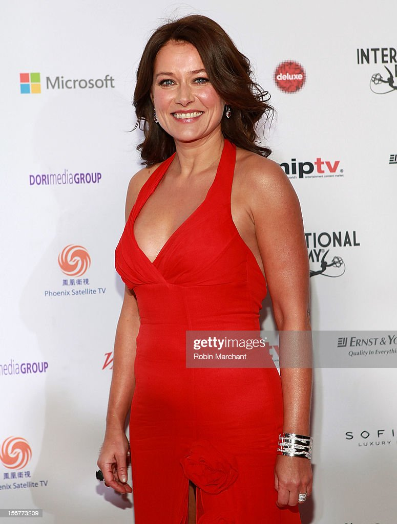 Actress Sidse Babett Knudsen attends the 40th International Emmy Awards on November 19, 2012 in New York City.