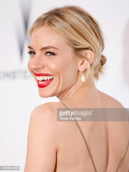 Actress Sienna Miller attends amfAR's 22nd Cinema Against AIDS Gala Presented By Bold Films And Harry Winston at Hotel du CapEdenRoc on May 21 2015...