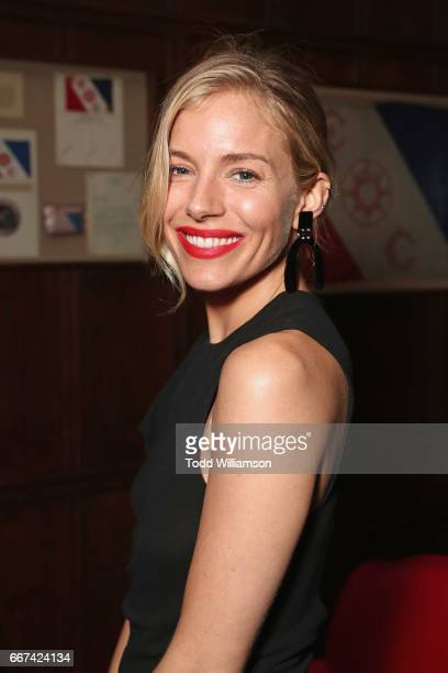 Actress Sienna Miller attends the after party for Amazon Studios and Bleecker Street special screening with Explorer's Club of James Gray's THE LOST...