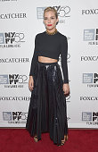 Actress Sienna Miller attends the 'Foxcatcher' premiere during the 52nd New York Film Festival at Alice Tully Hall on October 10 2014 in New York City