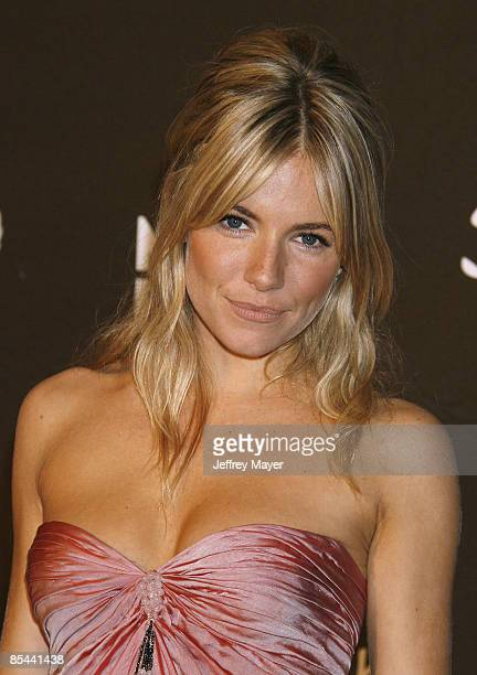 Actress Sienna Miller attends The Montblanc Signature for Good' UNICEF Charity Gala at Paramount Studios on February 20 2009 in Los Angeles