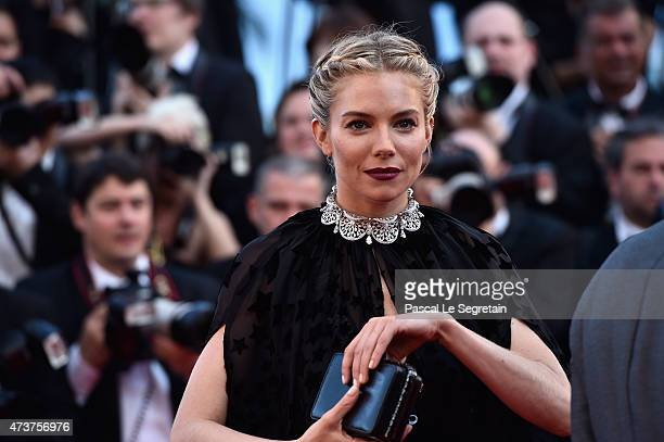 Actress Sienna Miller attends the Premiere of 'Carol' during the 68th annual Cannes Film Festival on May 17 2015 in Cannes France