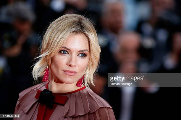 Actress Sienna Miller attends the Premiere of 'Macbeth' during the 68th annual Cannes Film Festival on May 23 2015 in Cannes France