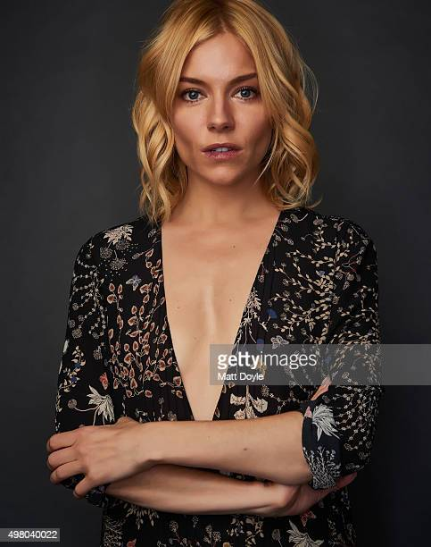 Actress Sienna Miller is photographed for SAG Foundation on October 18 in New York City Credit must read Matt Doyle/SAG Foundation/Contour by Getty...