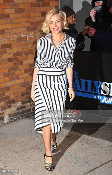 Actress Sienna Miller is seen on January 15 2015 in New York City
