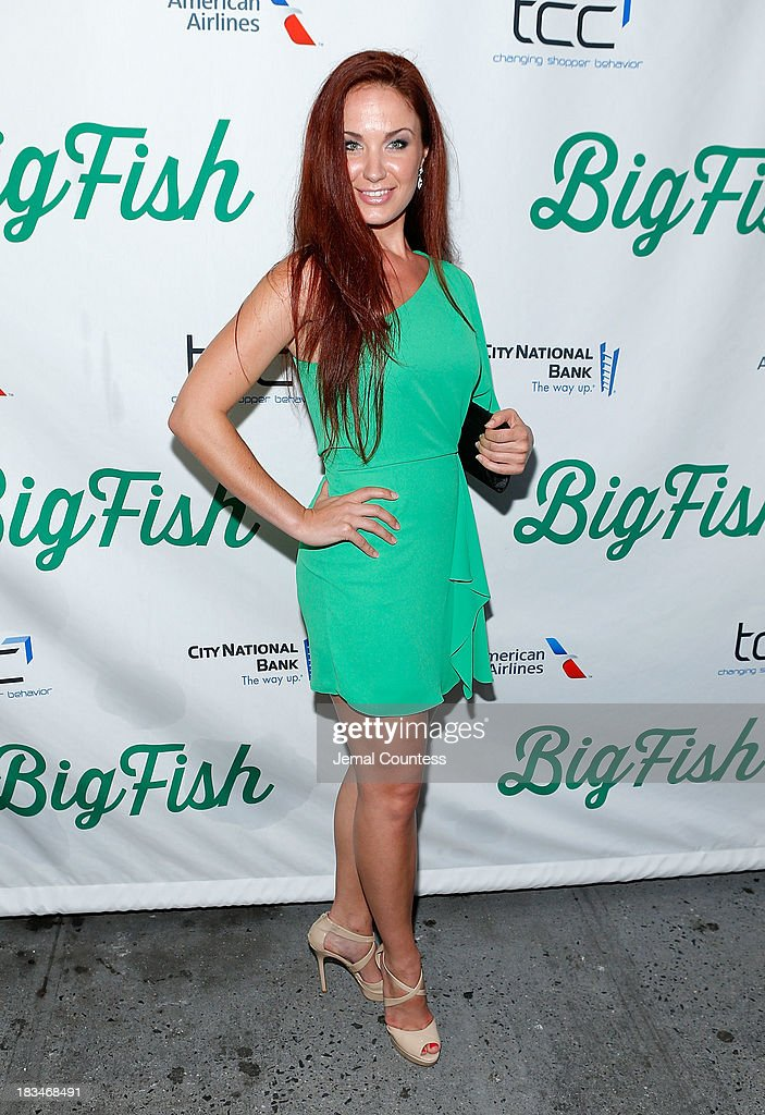 Actress Sierra Boggess attends the Broadway opening night of 'Big Fish' at Neil Simon Theatre on October 6, 2013 in New York City.