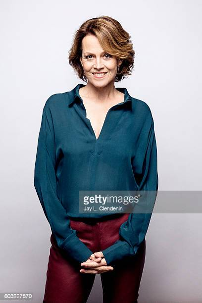 Actress Sigourney Weaver 'A Monster Calls' poses for a portraits at the Toronto International Film Festival for Los Angeles Times on September 11...