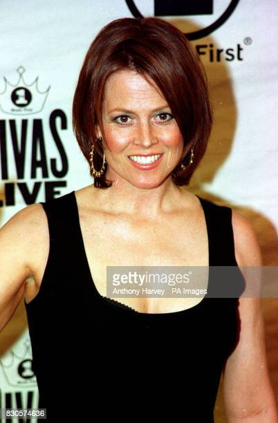 Actress Sigourney Weaver at the 2001 VH1 Divas Live show which this year was a tribute to Aretha Franklin held at Radio City Music Hall in New York...
