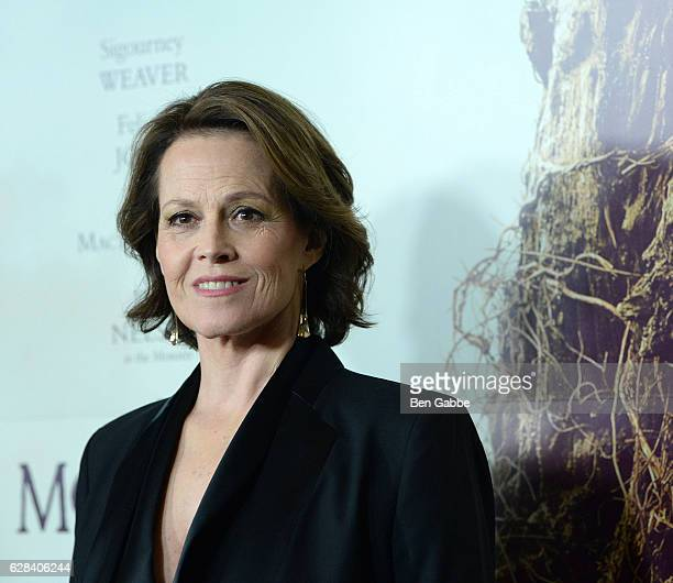 Actress Sigourney Weaver attends 'A Monster Calls' New York Premiere at AMC Loews Lincoln Square 13 theater on December 7 2016 in New York City