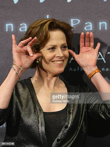 Actress Sigourney Weaver attends a photocall to promote the film 'Avatar' at Hotel de Rome on December 8 2009 in Berlin Germany
