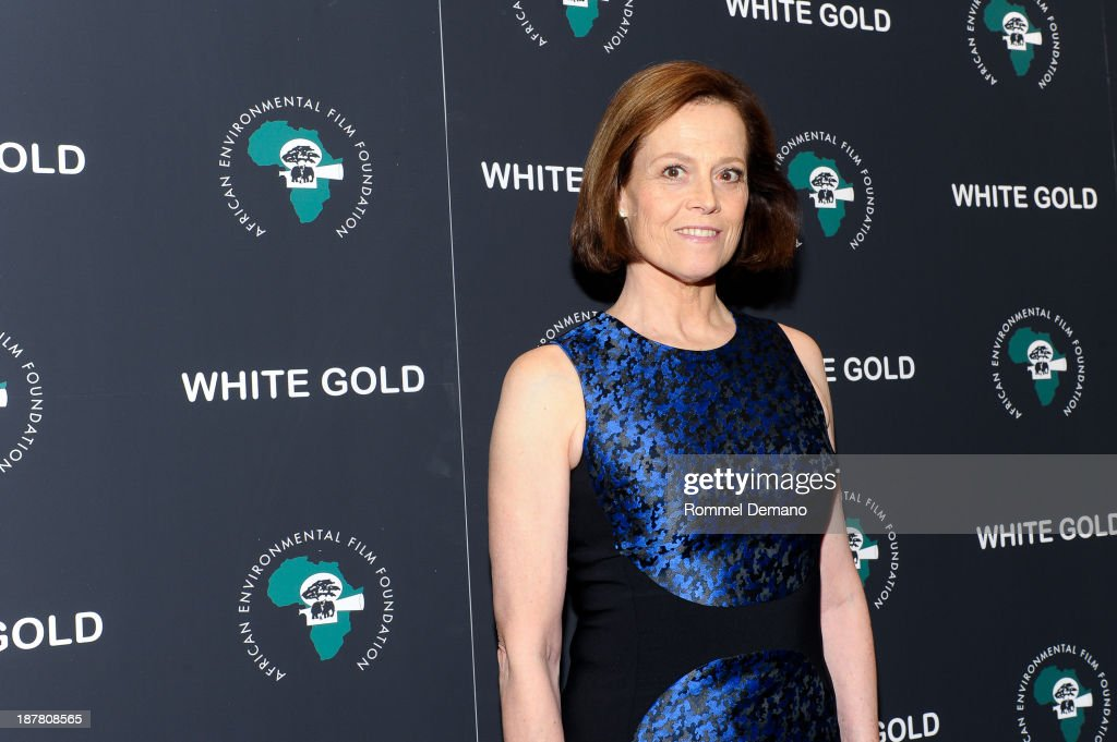 Actress <a gi-track='captionPersonalityLinkClicked' href=/galleries/search?phrase=Sigourney+Weaver&family=editorial&specificpeople=201647 ng-click='$event.stopPropagation()'>Sigourney Weaver</a> attends a special screening of 'White Gold' at Museum of Modern Art on November 12, 2013 in New York City.