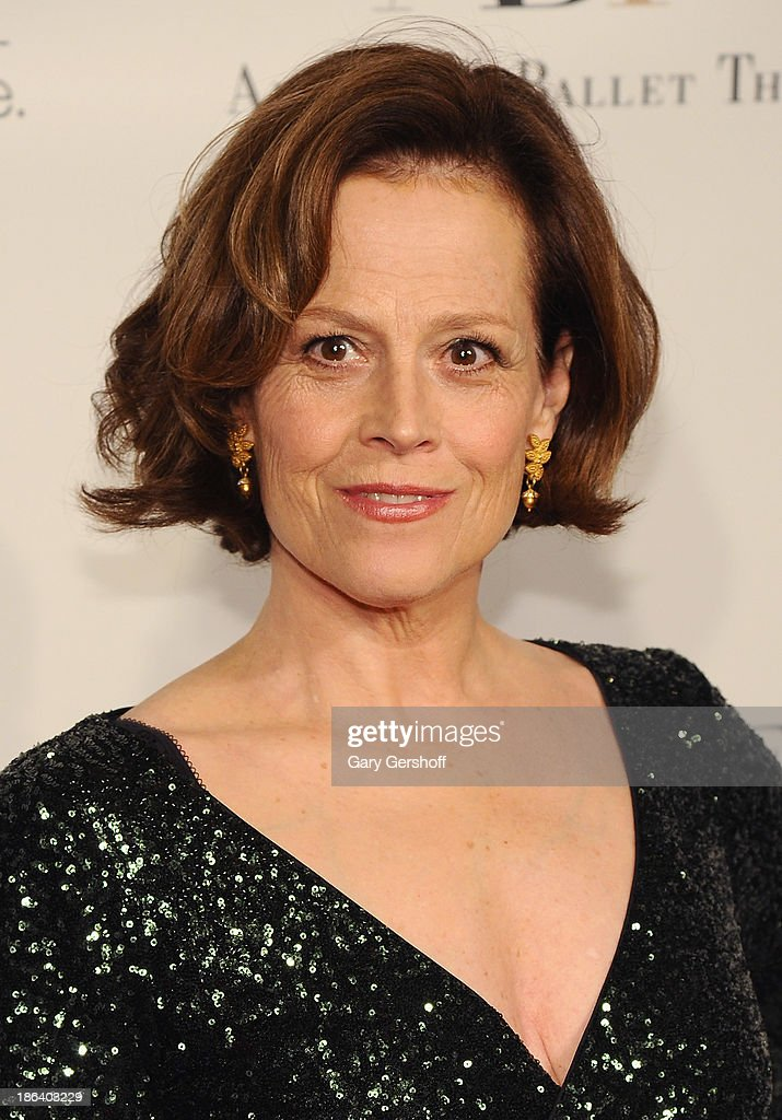 Actress Sigourney Weaver attends American Ballet Theatre 2013 Opening Night Fall Gala at David Koch Theatre at Lincoln Center on October 30, 2013 in New York City.