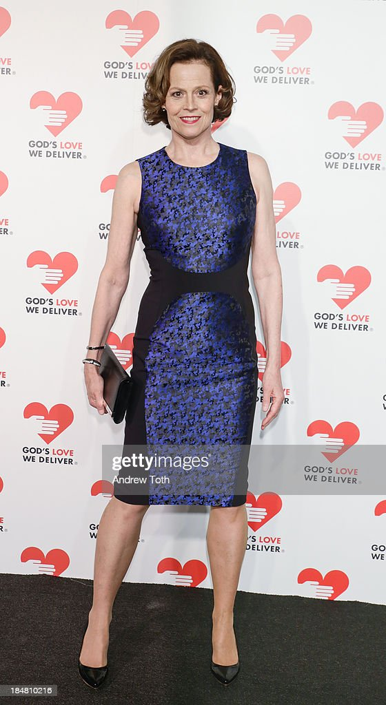 Actress Sigourney Weaver attends the 2013 God's Love We Deliver 2013 Golden Heart Awards Celebration at Spring Studios on October 16, 2013 in New York City.
