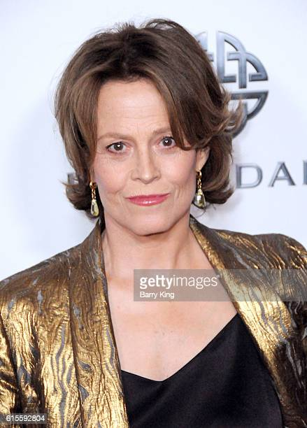 Actress Sigourney Weaver attends the 30th Annual American Cinematheque Awards Gala at The Beverly Hilton Hotel on October 14 2016 in Beverly Hills...