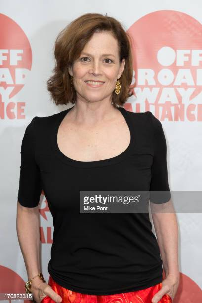 Actress Sigourney Weaver attends The 3rd Annual Off Broadway Alliance Awards Reception at Sardi's on June 18 2013 in New York City
