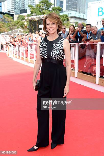 Actress Sigourney Weaver attends the 'A Monster Calls' premiere during the 2016 Toronto International Film Festival at Roy Thomson Hall on September...