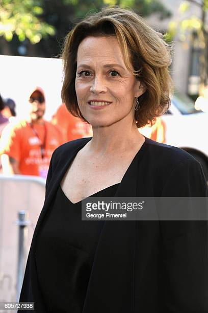 Actress Sigourney Weaver attends the ' ASSIGNMENT' Premiere during 2016 Toronto International Film Festival at Ryerson Theatre on September 14 2016...
