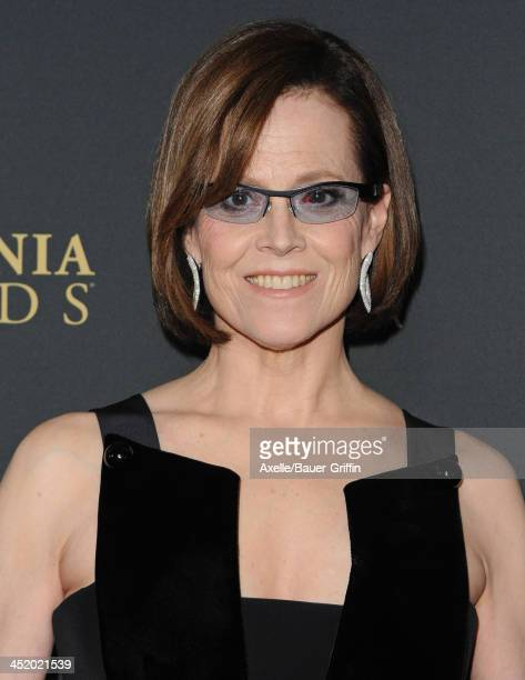 Actress Sigourney Weaver attends the BAFTA Los Angeles Britannia Awards at The Beverly Hilton Hotel on November 9 2013 in Beverly Hills California