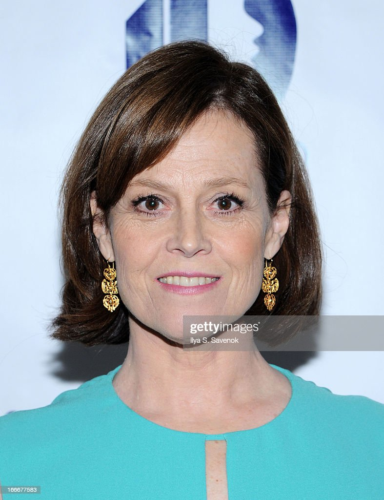Actress <a gi-track='captionPersonalityLinkClicked' href=/galleries/search?phrase=Sigourney+Weaver&family=editorial&specificpeople=201647 ng-click='$event.stopPropagation()'>Sigourney Weaver</a> attends the National Center for Learning Disabilities 36th annual dinner at the Mandarin Oriental Hotel on April 15, 2013 in New York City.