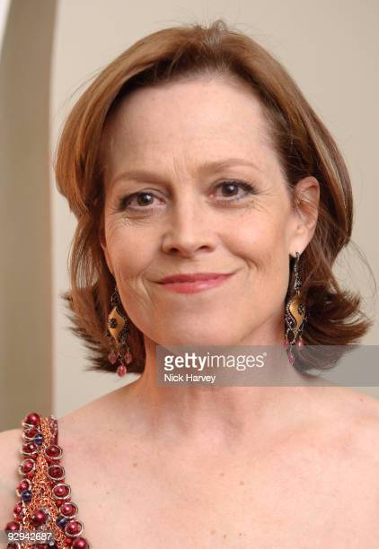 Actress Sigourney Weaver attends the Royal Rajasthan charity Gala on November 9 2009 in London England
