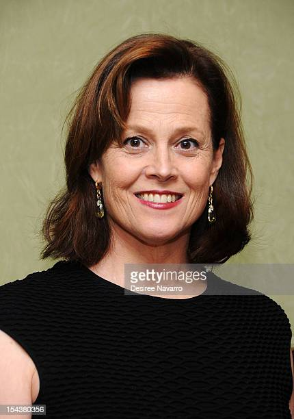 Actress Sigourney Weaver attends The Society of Memorial SloanKettering Cancer Center's 24th annual Preview Party for The International Fine Art and...