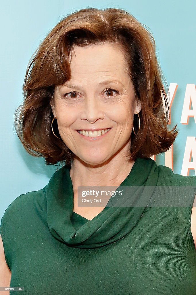 Actress <a gi-track='captionPersonalityLinkClicked' href=/galleries/search?phrase=Sigourney+Weaver&family=editorial&specificpeople=201647 ng-click='$event.stopPropagation()'>Sigourney Weaver</a> attends the 'Vanya And Sonia And Masha And Spike' Broadway Press Preview at The New 42nd Street Studios on February 28, 2013 in New York City.