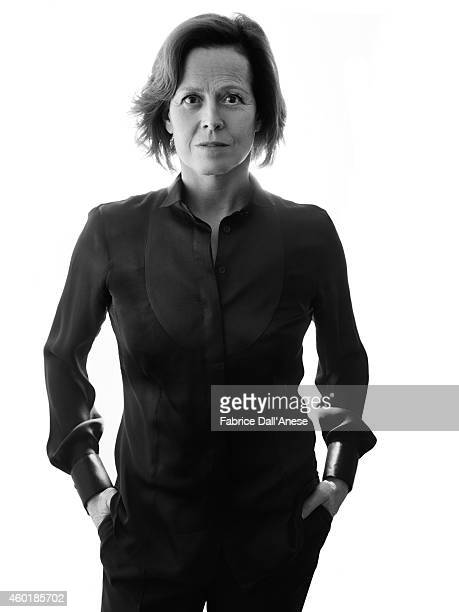 Actress Sigourney Weaver is photographed for Vanity Fair Italy on April 23 2014 in New York City