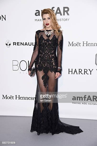 Actress Sigrid Bouaziz arrives at amfAR's 23rd Cinema Against AIDS Gala at Hotel du CapEdenRoc on May 19 2016 in Cap d'Antibes France