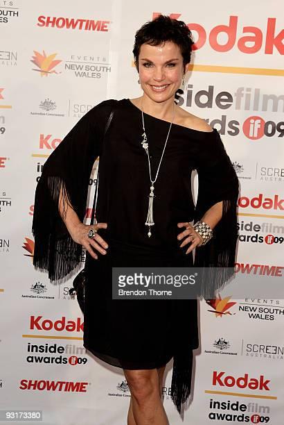 Actress Sigrid Thornton arrives for the 2009 Kodak Inside Film Awards at Luna Park on November 18 2009 in Sydney Australia