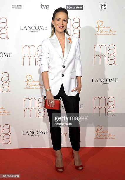 Actress Silvia Abascal attends the 'Ma Ma' Premiere at the Capitol Cinema on September 9 2015 in Madrid Spain