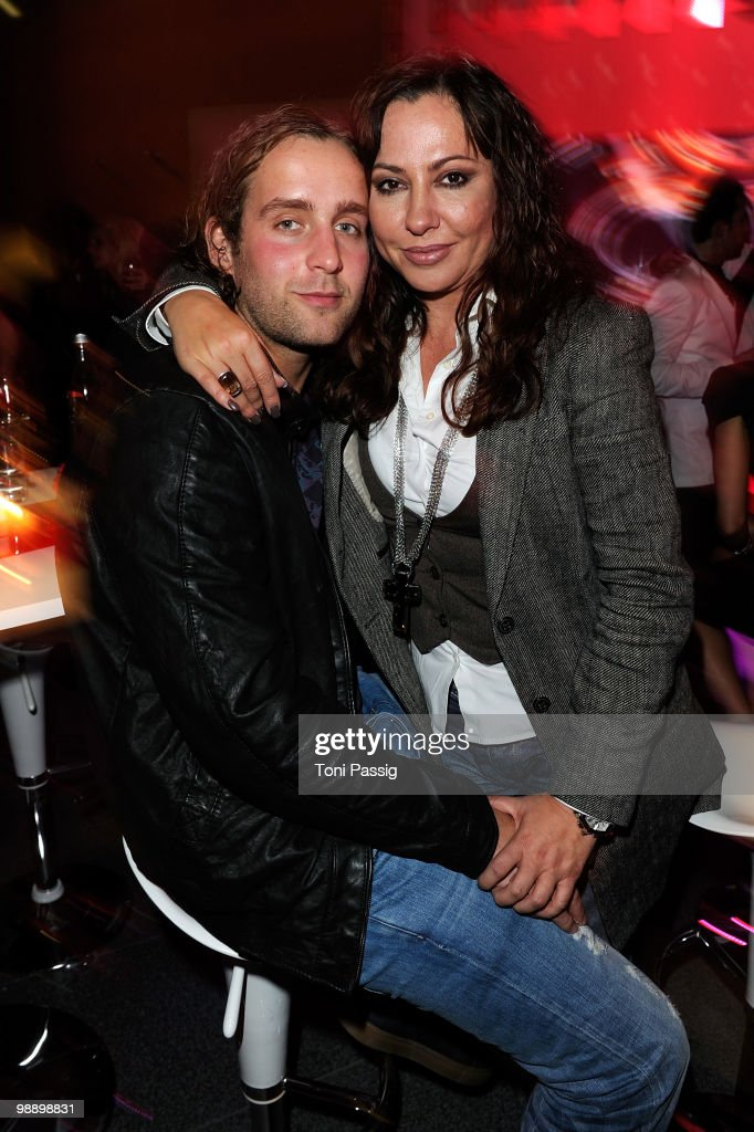 Actress Simone Thomalla and her boyfriend Silvio Heinevetter attend the 'OK! Style Award 2010' at the British Embassy on May 6, 2010 in Berlin, Germany.
