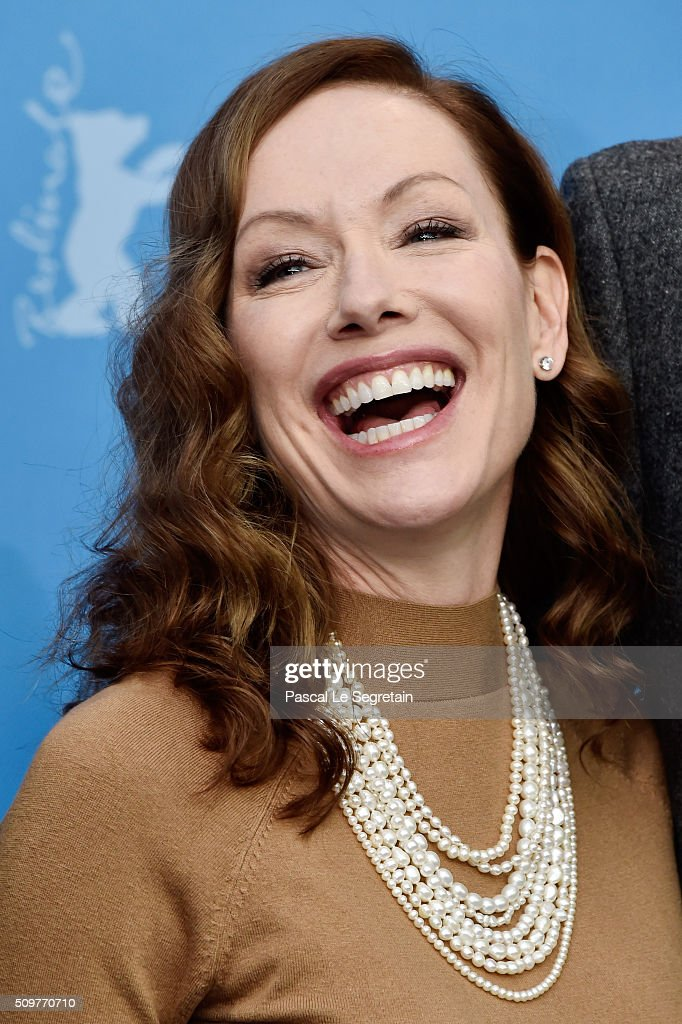 Actress Simone-Elise Girard attends the 'Boris without Beatrice' (Boris sans Beatrice) photo call during the 66th Berlinale International Film Festival Berlin at Grand Hyatt Hotel on February 12, 2016 in Berlin, Germany.