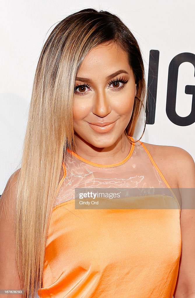 Actress/ singer <a gi-track='captionPersonalityLinkClicked' href=/galleries/search?phrase=Adrienne+Bailon&family=editorial&specificpeople=540286 ng-click='$event.stopPropagation()'>Adrienne Bailon</a> attends the Gig-It Launch Party at Capitale Bowery on April 30, 2013 in New York City.