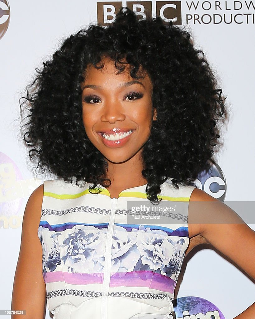 Actress / Singer Brandy Norwood attends the 'Dancing With The Stars' 300th episode after party on May 14, 2013 in Los Angeles, California.