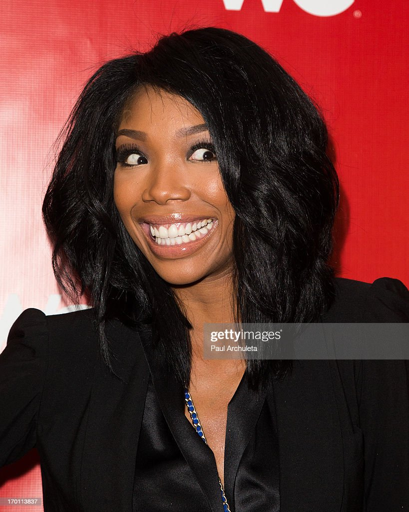 Hair Extensions Singer Brandy Styling Hair Extensions