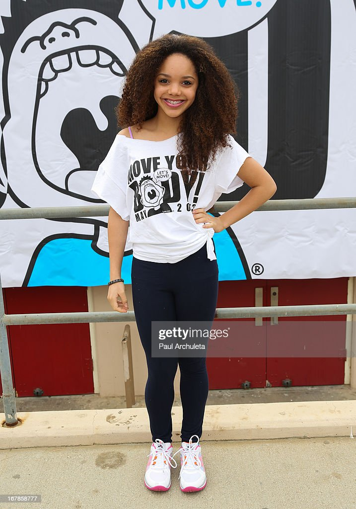 Actress / Singer Jadagrace Berry attends The WAT-AAH! Foundation's 3rd annual Move Your Body 2013 event on May 1, 2013 in Los Angeles, California.