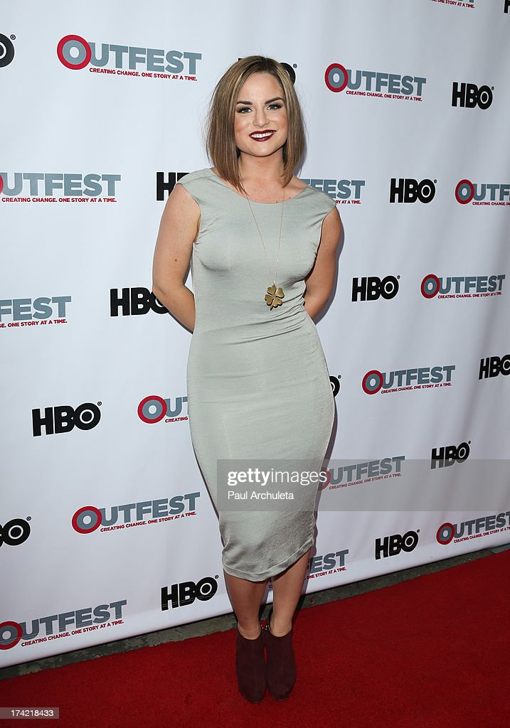 Actress / Singer Joanna 'JoJo' Levesque attends the screening of 'G.B.F.' at the 2013 Outfest film festival closing night gala at the Ford Theatre on July 21, 2013 in Hollywood, California.