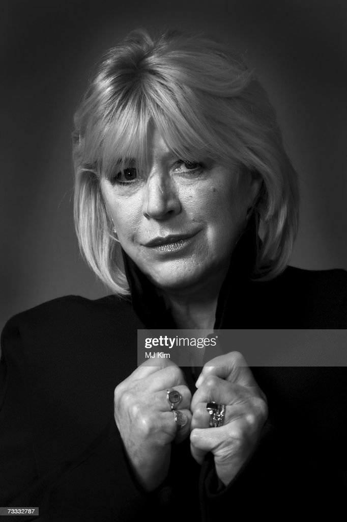 Actress / singer Marianne Faithfull poses for a portrait session to promote the movie 'Irina Palm' during the 57th Berlin International Film Festival (Berlinale) on February 15, 2007 in Berlin, Germany.
