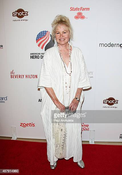 Actress / Singer Michelle Phillips attends the 4th annual American Humane Association Hero Dog Awards at The Beverly Hilton Hotel on September 27...